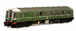 Dapol 4D-015-002D BR Class 122 W55000 BR Green with Whiskers (DCC-Fitted)